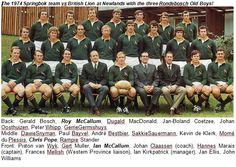 Rugby Teams, South African Rugby, International Rugby, Vintage Sport, African History, Cape, Pride, Rainbow, Memories