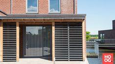 Buitenpracht Houtbouw - Tuinhuis met handgemaakte verstelbare shutters