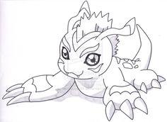 gomamon drawings - Google Search