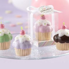 Cupcake Candles - Cupcake Party Favor Ideas for Adults