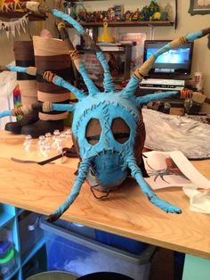 Another cosplay version of the mask/helmet.