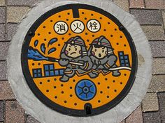 japanese manhole cover - Google Search