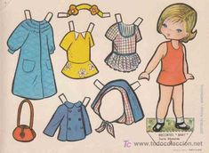 RECORTABLES BABY EDITORIAL ROMA, SERIE MUÑECAS Nº3 (Coleccionismo - Recortables - Muñecas)