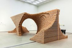 Complex Wooden Structure Composed of 9,076 Pieces - My Modern Met