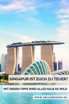 Klar, Singapur gilt als eine der teuersten Städte der Welt. Doch auch hier gibt es Ecken und Orte, die man auch ohne viel Geld erkunden kann und die einen tollen Eindruck dieser unglaublich vielfältigen Metropole geben.