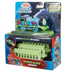 Superb Thomas & Friends TrackMaster Glow in the Dark Thomas Now at Smyths Toys UK. Shop for Thomas and Friends Track Master Engines At Great Prices. Buy Toys, Toys Shop, Thomas Toys, Kids Toys Online, Thomas And Friends, Fisher Price, Pre School, Glow, Learning