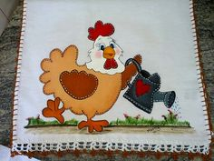 Chicken Art, Tea Towels, Bowser, Alice, Patches, Joy, Quilts, Stitch, Sewing
