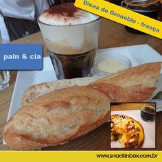 Dica deliciosa de onde comer na cidade de Grenoble França!  Delicious tip where to eat at Grenoble-France  http://www.snackinbox.com.br/pain-cia-dicas-de-grenoble-franca/