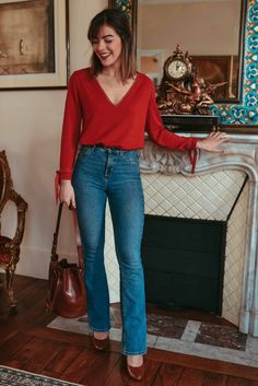 2019 Casual Fashion Trends For Women - Fashion Trends Work Fashion, Fashion Outfits, Womens Fashion, Fashion Trends, Winter Mode, Cute Casual Outfits, Jean Outfits, Casual Looks, Ideias Fashion