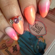 """""""Sweet Friday"""" Nail Art Jewels available on our website www.nailcandi.co.za The ONLY reusable nail art available! #3DNailArt #NailArtCharms #NailCandy"""