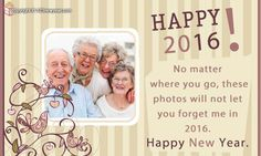 New Year Photo Greeting Cards
