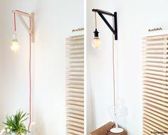 Designtanke // DIY // Designerlampe