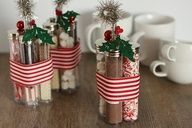 Hot chocolate kits, cute idea! How about a basket at the front door all winter for guest to take with them :)