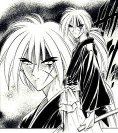Kenshin Le Vagabond, Vagabond Manga, Double Picture, Rurouni Kenshin, Manga Pages, Album, Love Pictures, Samurai, Images