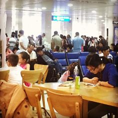 At the Tan Son Nhat International Airport on our way to #dalat from Ho Chi Minh! #lovevietnam #travel #soexcited
