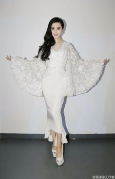 Fan Bingbing in Ralph & Russo attends the 19th annual Shanghai Film Festival.