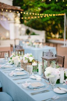 Rustic chic table: http://www.stylemepretty.com/2012/06/14/rancho-las-lomas-by-hazelnut-photography/ | Photography: Hazelnut PHotography - http://hazelnutphotography.com/