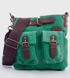 Oh this color! Joan Spearmint Suede Crossbody Bag handmade by mo&co. bags