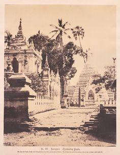Roland Belgrave Vintage Photography Ltd, Linneaus Tripe, Thamboukday Pagoda, Amerapoora, Burma, 1855, at Photo London 2016 www.photolondon.org
