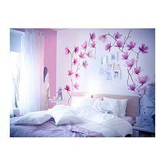 IKEA - SLÄTTHULT, Decorazione autoadesiva, Con gli adesivi decorativi è facile rinnovare una stanza senza verniciare o tappezzare.Soggetto di Nathalie Redard.
