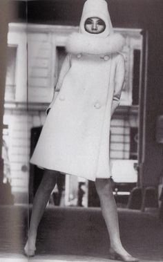 1967 - Pierre Cardin Couture coat by Yoshi Takata