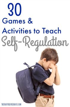 Games and Activities for Self-Regulation The Inspired Treehouse - How can you support the development self-regulation in your child? Check out some of our best activities and ideas here!Human development Human development may refer to: Learning Tips, Kids Learning, Early Learning, Teaching Kids, Emotional Regulation, Emotional Development, Self Regulation Strategies, Language Development, Adhd Strategies