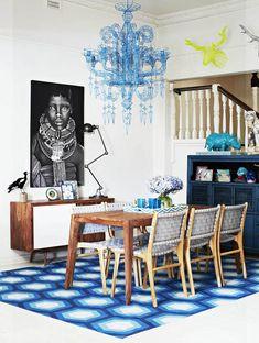 Fenton & Fenton Rugs - #blue