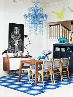 Fenton & Fenton woven dhurrie rug designs (styling: Julia Green, photo: Armelle Habib).