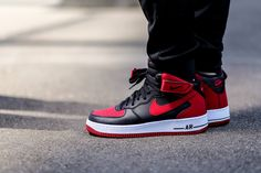 Nike Air Force 1 Mid 'Bred'   More Sneakers