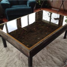 Cabelas Big Sky Carvers Trout Stream Coffee Table Would Love A - Trout stream coffee table