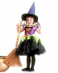 Infant or Toddler Witch Costume - Halloween Costumes