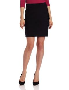 Calvin Klein Women's Fitted Skirt, Black, X-Small Calvin Klein. $89.50