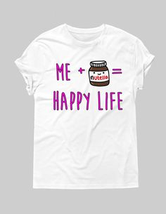 Nutella Graphic Tee – Hipster Tops