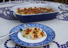 Twice-baked Cauliflower (paleo/primal)