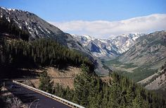 Beartooth Pass with Big Phil--60 miles and 2 hours of switchbacks on bikes!!   FUN FUN FUN!!