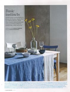 Elle Decoration Uk tablecloth by Society