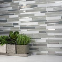 Peel and stick kitchen backsplash | Smart Tiles