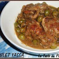 Voilà un plat que j'adore ! Citron, oignons, ails, olives vertes et poulet, j'adore l'association de tous ces produits. Le poulet yassa nous viens de la région sud du Sénagal, en Casamance. Fais...