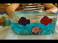 Manualidades para niños - El mar en una botella - ChispiKids