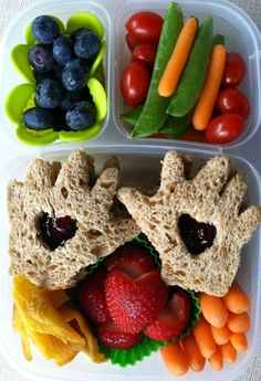 Kissing Hand   Healthy Hearts Hands Lunch Box from Bentoriffic