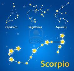 1000  Ideas About Scorpio Constellation Tattoos On