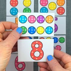 dotty number puzzles for preschool and kindergarten