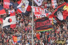 Una cartolina da La superba; Genoa CFC vs Hellas Verona #ultras Genoa Cricket and Football Club