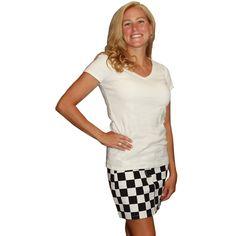NASCAR Game Bibs Women's Skirt