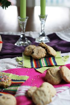 Pabassinas- Almond Raisin Cookies