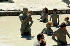 It is a must to get dirty in mud bath in Dalyan Wanna get dirty? :-) Book trip to Dalyan - http://www.traveltofethiye.co.uk/explore/excursions-and-guided-tours/dalyan-mud-bath-and-turtle-beach/