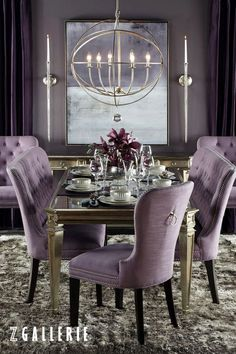 198 best decorating z gallerie images on pinterest for Mobilia kitchen table