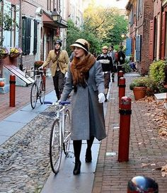From Tweed Ride. She is marvelous!