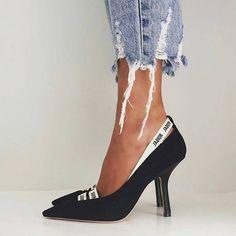"43 Likes, 4 Comments - Stefenie Hart (@stefi.hart) on Instagram: "" . . . #jadior #pumps #potd #fashion #outfitinspo #iadoreyou #distressedjeans #dior #shoes #love…"""
