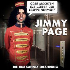 """Jimmy Page"" // Die Jimi Kannix Erfahrung ### Led Zeppelin, Parodie, Stairway To Heaven,"